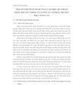 MỘT SỐ GIẢI PHÁP NHẰM NÂNG CAO HIỆU QUẢ HOẠT ĐỘNG TRUYỀN THÔNG CỦA CÔNG TY CỔ PHẦN THƯƠNG HIỆU TOÀN CẦU