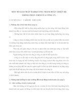 MỘT SỐ GIẢI PHÁP MARKETING NHẰM HOÀN THIỆN HỆ THỐNG PHÂN  PHỐI CỦA CÔNG TY
