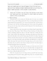 MỘT SỐ Ý KIẾN ĐỂ XUẤT HOÀN THIỆN CÔNG TÁC KẾ TOÁN  KẾT QUẢ TÀI CHÍNH VÀ PHÂN PHỐI LỢI NHUẬN TẠI CÔNG TY PHÁT TRIỂN TIN HỌC, CÔNG NGHỆ VÀ MÔI TRƯỜNG.