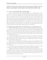 MỘT SỐ GIẢI PHÁP NHẰM ĐẨY MẠNH HOẠT ĐỘNG XUẤT KHẨU GẠO TRỰC TIẾP SANG THỊ TRƯỜNG CHÂU PHI