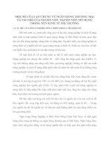 MỘT SỐ LÝ LUẬN CHUNG VỀ NGÂN HÀNG THƯƠNG MẠI VÀ VAI TRÒ CỦA NGUỒN VỐN  NGUỒN VỐN TÍN DỤNG TRONG NỀN KINH TẾ THỊ TRƯỜNG