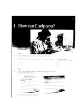 Telephone In English - How can i help you