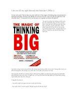 Làm sao để suy nghĩ như một nhà lãnh đạo?