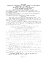 QUY CHẾ TỔ CHỨC VÀ HOẠT ĐỘNG CỦA  CÂU LẠC BỘ THỂ DỤC THỂ THAO Ở CƠ SỞ