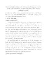 CƠ SỞ LÝ LUẬN CHUNG VỀ TỔ CHỨC KẾ TOÁN TIÊU THỤ THÀNH PHẨM VÀ XÁC ĐỊNH KẾT QUẢ TIÊU THỤ TRONG CÁC   DOANH NGHIỆP SẢN XUẤT