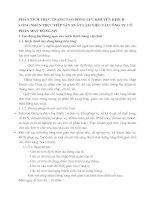 PHÂN TÍCH THỰC TRẠNG TẠO ĐỘNG LỰC KHUYẾN KHÍCH CÔNG NHÂN TRỰC TIẾP SẢN XUẤT LÀM VIỆC TẠI CÔNG TY CỔ PHẦN MAY ĐÔNG MỸ