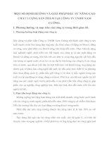 MỘT SỐ ĐỊNH HƯỚNG VÀ GIẢI PHÁP ĐẦU TƯ NÂNG CAO CHẤT LƯỢNG SẢN PHẨM TẠI CÔNG TY TNHH NAM CƯỜNG