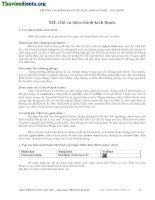 Giáo trình autocad 2007  - Ghi và hiệu chỉnh kích thước