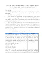 CÁC GIẢI PHÁP VÀ KIẾN NGHỊ NHẰM NÂNG CAO CHẤT LƯỢNG DỊCH VỤ KHAI THÁC CẢNG TẠI CẢNG LONG BÌNH