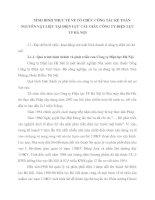 TÌNH HÌNH THỰC TẾ VỀ TỔ CHỨC CÔNG TÁC KẾ TOÁN NGUYÊN VẬT LIỆU TẠI ĐIỆN LỰC CẦU GIẤY CÔNG TY ĐIỆN LỰC TP HÀ NỘI