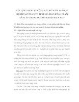 LÝ LUẬN CHUNG VỀ CÔNG TÁC KẾ TOÁN TẬP HỢP CHI PHÍ SẢN XUẤT VÀ TÍNH GIÁ THÀNH SẢN PHẨM XÂY LẮP TRONG DOANH NGHIỆP HIỆN NAY
