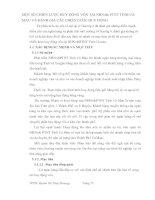 MỘT SỐ CHIẾN LƯỢC HUY ĐỘNG VỐN TẠI NHNo& PTNT TỈNH CÀ MAU VÀ ĐÁNH GIÁ CÁC CHIẾN LƯỢC HUY ĐỘNG