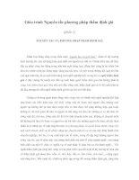 Giáo trình Nguyên tắc phương pháp thẩm định giá (phần 1)