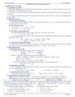 Lý thuyết và bài tập Sắt và các hợp chất của Sắt