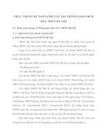 THỰC TRẠNG KẾ TOÁN CHO VAY TẠI  PHÒNG GIAO DỊCH SỐ 6  NHNT HÀ NỘI