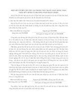 MỘT SỐ VẤN ĐỀ CÒN TỒN TẠI TRONG VIỆC HẠCH TOÁN KHẤU HAO TSCĐ HỮU HÌNH VÀ PHƯƠNG PHÁP HOÀN THIỆN
