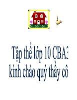 cac tap hop so 10 chuan