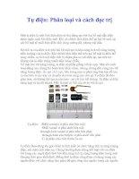 Tụ điện: Phân loại và cách đọc trị