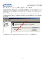 Part 40 - Upgrade Server 2008 - Windows PowerShell