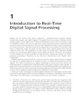 Real-Time Digital Signal Processing - Chapter 1: Introduction to Real-Time Digital Signal Processing