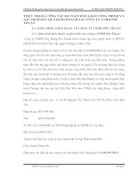 THỰC TRẠNG CÔNG TÁC KẾ TOÁN BÀN GIAO CÔNG TRÌNH VÀ XÁC ĐỊNH KẾT QUẢ KINH DOANH TẠI CÔNG TY TNHH PHÚ THUẬN