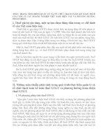THỰC TRẠNG TÌNH HÌNH QUẢN LÝ VÀ TỔ CHỨC HẠCH TOÁN KẾ TOÁN THUẾ GIA TĂNG Ở CÁC DOANH NGHIỆP VIỆT NAM HIỆN NAY VÀ PHƯƠNG HƯỚNG HOÀN THIỆN