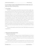 CÁC GIẢI PHÁP VÀ KIẾN NGHỊ GÓP PHẦN SỬ DỤNG CÓ HIỆU QUẢ LAO ĐỘNG TẠI CÔNG TY MINH HUYỀN