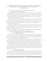 TỔNG QUAN VỀ THANH TOÁN QUỐC TẾ VÀ HIỆU QUẢ HOẠT ĐỘNG THANH TOÁN QUỐC TẾ CỦA NHTM