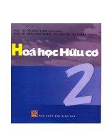 GIAO TRINH HOA HUU CO TAP 2 RANG
