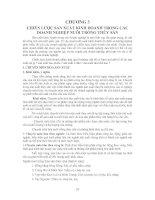 CHƯƠNG 3 CHIẾN LƯỢC SẢN XUẤT KINH DOANH TRONG CÁC DOANH NGHIỆP NUÔI TRỒNG THỦY SẢN