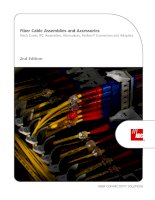 Fiber Cable Assemblies and Accessories Patch Cords, IFC Assemblies, Attenuators, FasTerm® Connectors and Adapters