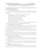 THỰC TRẠNG KẾ TOÁN TIÊU THỤ VÀ XÁC ĐỊNH KẾT QUẢ KINH DOANH TẠI CÔNG TY CỔ PHẦN DƯỢC PHẨM VĂN LAM