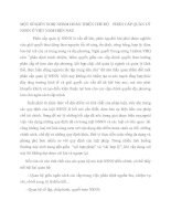 MỘT SỐ KIẾN NGHỊ NHẰM HOÀN THIỆN CHẾ ĐỘ    PHÂN CẤP QUẢN LÝ NSNN Ở VIỆT NAM HIỆN NAY