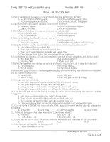 650 câu trắc nghiệm tốt nghiệp có đáp án