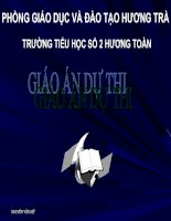 VE HAI DUONG THANG VUONG GOC TOAN LOP BON