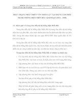 THỰC TRẠNG PHÁT TRIỂN VỐN NHÂN LỰC TẠI TRUNG TÂM ĐIỀU ĐỘ HỆ THỐNG ĐIỆN MIỀN BẮC GIAI ĐOẠN