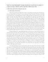NHỮNG GIẢI PHÁP KIẾN NGHỊ NHẰM ĐẨY MẠNH XUẤT KHẨU Ở CÔNG TY MAY THĂNG LONG TRONG THỜI GIAN TỚI