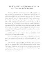 MỘT SỐ BIỆN PHÁP TĂNG CƯỜNG HUY ĐỘNG VỐN  TẠI NGÂN HÀNG CÔNG THƯƠNG HOÀN KIẾM
