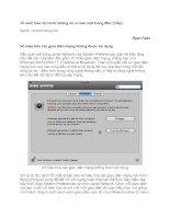 15 cách bảo vệ tránh những rủi ro bảo mật trong Mac phần 2