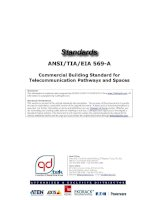 Cabling Standard - TIA 569 A - Commercial Building Standard for Telecom Pathway & Spaces