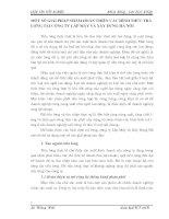 MỘT SỐ GIẢI PHÁP NHẰM HOÀN THIỆN CÁC HÌNH THỨC TRẢ LƯƠNG TẠI CÔNG TY LẮP MÁY VÀ XÂY DỰNG HÀ NỘI