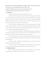 MỘT SỐ GIẢI PHÁP NHẰM HOÀN THIỆN CÔNG TÁC TRẢ LƯƠNG TẠI CÔNG TY CỔ PHẦN HOÁ CHẤT VIỆT TRÌ