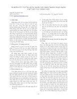 041_Nghiên cứu và ứng dụng mạng Neutron trong nhận dạng chữ viết tay tiếng Việt