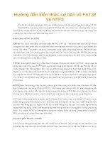 Hướng dẫn kiến thức cơ bản về FAT32 và NTFS