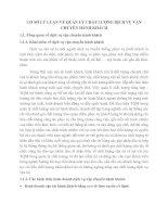 CƠ SỞ LÝ LUẬN VỀ QUẢN LÝ CHẤT LƯỢNG DỊCH VỤ VẬN CHUYỂN HÀNH KHÁCH