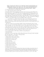 THỰC TRẠNG SỬ DỤNG CÁC PHƯƠNG PHÁP THẨM ĐỊNH TÀI CHÍNH DỰ ÁN ĐẦU TƯ CHO VAY VỐN TẠI CHI NHÁNH NHCT THANH XUÂN THỜI GIAN QUA