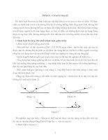 chuyên đề bài tập 3 định luật newton