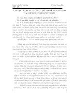 LÝ LUẬN CHUNG VỀ TỔ CHỨC LẬP VÀ PHÂN TÍCH BÁO CÁO TÀI CHÍNH TRONG DOANH NGHIỆP