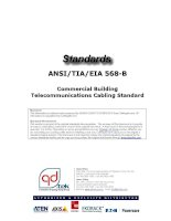 Cabling Standard - TIA 568 B - Commercial Building Telecommunications Cabling Standard