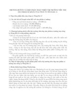 PHƯƠNG HƯỚNG VÀ BIỆN PHÁP  PHÁT TRIỂN THỊ TRƯỜNG TIÊU THỤ SẢN PHẨM XI MĂNG CỦA CÔNG TY SÔNG ĐÀ 12